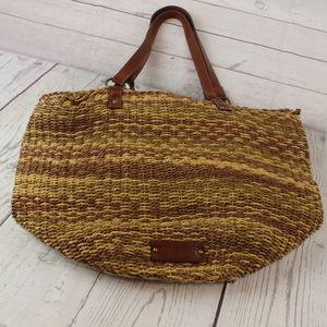 Lucky Brand Woven Bag Purse Tote